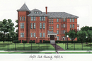 Campus Images VA992 Norfolk State Campus Images Lithograph Print