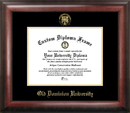 Campus Images VA998GED Old Dominion Gold Embossed Diploma Frame