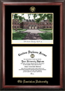 Campus Images VA998LGED Old Dominion Gold embossed diploma frame with Campus Images lithograph