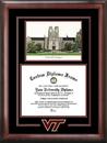 Campus Images VA999SG Virginia Tech Spirit Graduate Frame with Campus Image