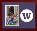 Campus Images WA995SLPFV University of Washington Spirit Photo Frame (Vertical)