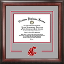 Campus Images WA996SD Washington State University Spirit Diploma Frame