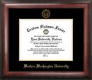 Campus Images WA997GED Western Washington University Gold Embossed Diploma Frame