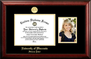 Campus Images WI993PGED-108 University of Wisconsin- Stevens Point 10w x 8h Gold Embossed Diploma Frame with 5 x7 Portrait