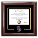 Campus Images WI993SD University of Wisconsin Spirit Diploma Frame