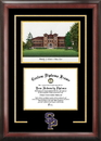 Campus Images WI993SG University of Wisconsin Spirit Graduate Frame with Campus Image