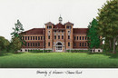 Campus Images WI993 University of Wisconsin Campus Images Lithograph Print
