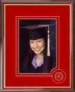 Campus Images WI995CSPF University of Wisconsin 5X7 Graduate Portrait Frame