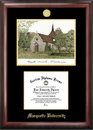 Campus Images WI999LGED Marquette University Gold embossed diploma frame with Campus Images lithograph