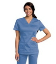 Landau 4143 Womens All Day Y Neck Scrub Tunic