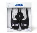 Landau 60627 Slippers With Scrunchy 6Pr