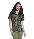 Landau 9051 Womens V-Neck Tunic