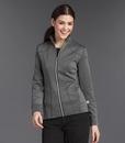 Landau S303009 Cranked - Womens Smitten Ponte Zip Front Jacket