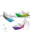 Kid O 10487K Origami Color Changing Bath Boats
