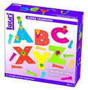 Lauri 2322 Tall-Stacker A-Z Pegboard Set - Uppercase