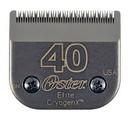 Oster #40 Elite CryogenX Blade, #40, Leaves Hair 1/100