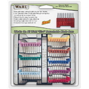 Wahl 5-in-1 Stainless Steel Attachment Comb Set, Set of 8 / Stainless Steel Blade Attachment Combs