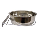 Stainless Steel Coop Cups with Steel Clamp Holders, 96 oz