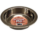 Stainless Steel Puppy Pans, 4