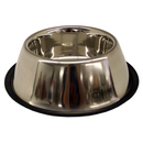 Non-Tip Stainless Steel Bowls, 32 oz Spaniel Style