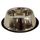 Non-Tip Stainless Steel Bowls, 32 oz Spaniel Style