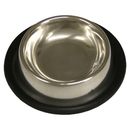 Non-Tip Stainless Steel Bowls, 8 oz