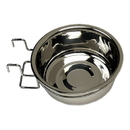 Varies Bowl, SS Coop Cup, w/extra back support, wire holder/hook