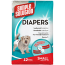 Simple Solution Disposable Diapers, Small, 12 pk