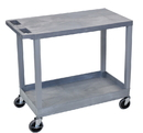 Luxor EC21-G Utility Cart - Gray, 18