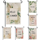 Customized Garden Flag Customized Picture Photo Text Christmas Halloween Banner Linen Material
