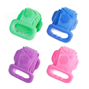 2 Pack Exfoliating Back Scrubber Silicone Brushe Back Scratcher for Shower Bath Soft Sponge Scrubber Body Clean Tool - 4.3