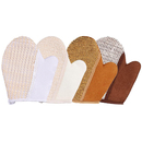 5 Pcs Exfoliating Shower Gloves Bath Tool Exfoliate Scrubber for Body Beauty Spa Massage