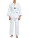 TOPTIE 7.5 Oz Taekwondo Suit TKD Dobok Student Uniform with Belt