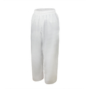 TOPTIE Poly Cotton Karate TKD Uniform Pants with Traditional Waist