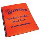 Glover's Scorebooks 01299 Glover's Baseball/Softball Short Form Scorebook