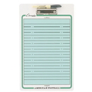 Champion Sports 02457 Football Coach's Dry Erase Board