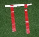 White Line Equipment Flag Football Set - Red