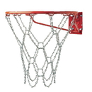 White Line Equipment Steel Chain Basketball Net