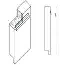 White Line Equipment Z Channel Mounting Hardware For Wall Padding