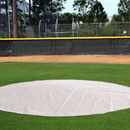 White Line Equipment 6 Oz. 12' Diameter Poly Base/Youth Mound Cover