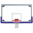 Gared 03367 Gared AFRG48 Competition Aluminum Frame Tall Glass Backboard