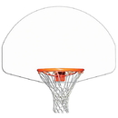 Gared 03382 Gared Fan Shaped Indoor/Outdoor Aluminum Recreational Backboard