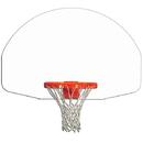 Gared Sports Gared Fan - Shaped Indoor/Outdoor Steel Recreational Backboard