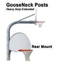Gared Sports Gared Outdoor Heavy - Duty Extended Rear Mount Gooseneck Post