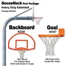 Gared Rear Mount Heavy - Duty Extended Gooseneck Package