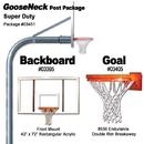 Gared Super - Duty Gooseneck Package - Rect Acrylic 42