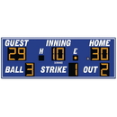 Electro - Mech Outdoor Baseball Scoreboard Model LX1250