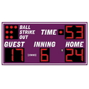 Electro - Mech Outdoor Baseball/Softball Scoreboard Model LX1340
