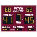 Electro - Mech Outdoor Baseball Scoreboard Model LX1130