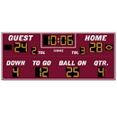 Electromech 05625 Electro-Mech Outdoor Football Scoreboard Model LX3680